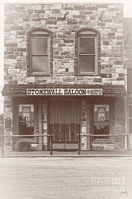 Photograph - Stonewall Saloon by Imagery by Charly