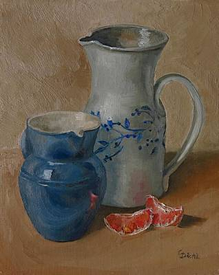 Painting - Stoneware by Grace Diehl