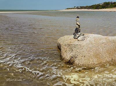 Photograph - Stonework by Michelle Wiarda