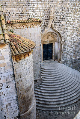 Photograph - Stonework Of St Dominika Street, Game Of Thrones Kings Landing, Dubrovnik, Croatia by Global Light Photography - Nicole Leffer