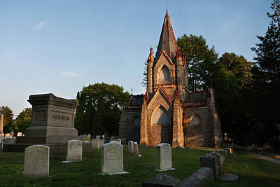 Photograph - Stonington Ct Cemetery  by Kirkodd Photography Of New England