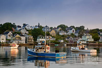 Hancock Village Photograph - Stonington Harbor by Susan Cole Kelly