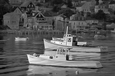Photograph - Stonington, Maine #1 by George Robinson