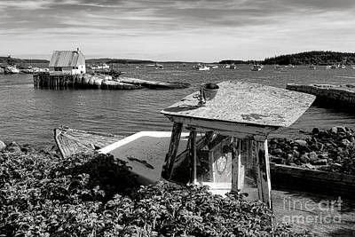 Photograph - Stonington Memories by Olivier Le Queinec