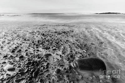 Strong America Photograph - Stony Beach by Masako Metz