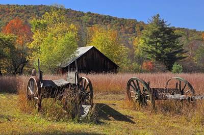 Photograph - Stony Creek Farm by David Seguin