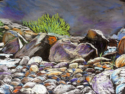 Pastel - Stony Creek Study 1 by TD Wilson