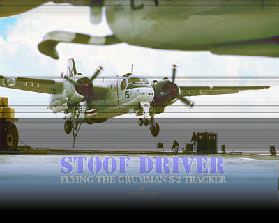 Digital Art - Stoofdriver Cover by Mike Ray