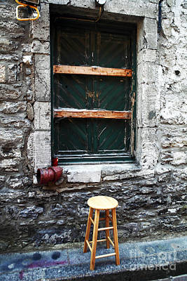 Photograph - Stool by John Rizzuto