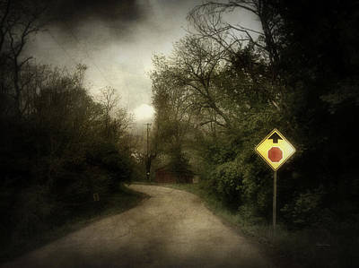 Photograph - Stop Ahead by Cynthia Lassiter