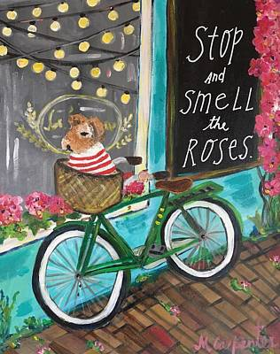 Painting - Stop And Smell The Roses by Mindy Carpenter