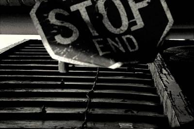 Stop End Art Print
