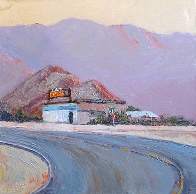 Painting - Stop For Service by Kathleen Strukoff