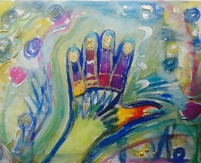 Painting - Stop In The Name Of Oops To Late by Judith Desrosiers