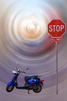 Photograph - Stop by Jonathan Nguyen