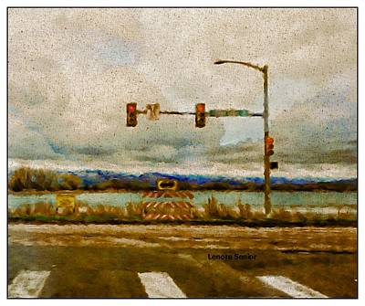 Photograph - Stop Light At Terry Lake by Lenore Senior