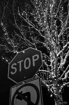 Stop Sign Photograph - Stop Lights by Noah Cole