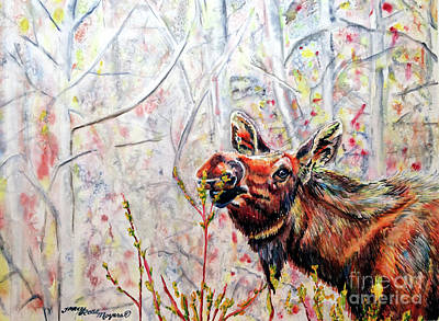 Painting - Stop To Smell The Weeds by Tracy Rose Moyers