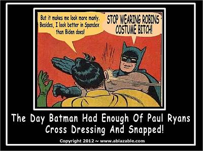 Digital Art - Stop Wearing Robin's Costume by The GYPSY And DEBBIE