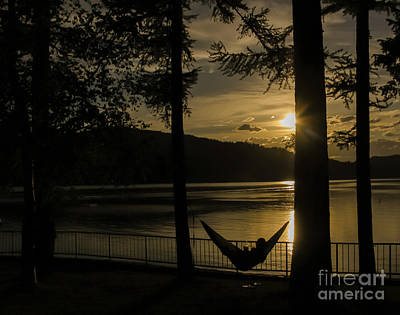 Stop... Hammock Time Art Print by Amy Sorvillo