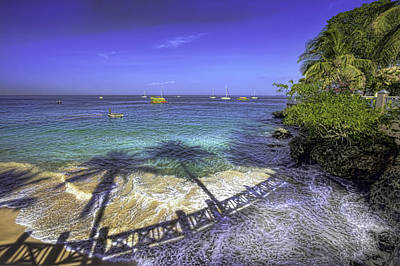 Photograph - Store Bay Tobago by Nadia Sanowar