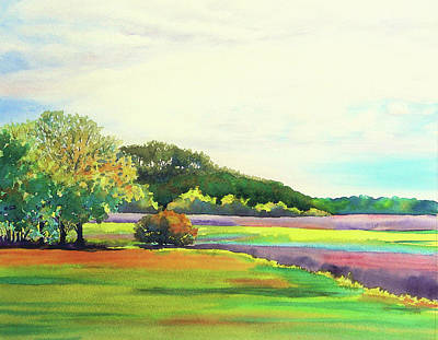 Wall Art - Painting - Store Creek Marsh by Ann Thompson Nemcosky