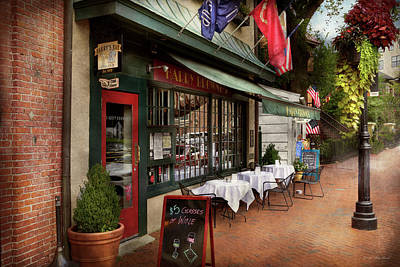 Photograph - Store Front - Annapolis Md - Harry Brownes by Mike Savad