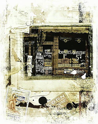 Photograph - Store Front by Nancie Rowan
