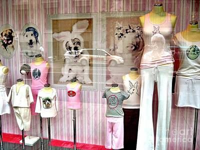 Photograph - Store Window Dusseldorf by Phyllis Kaltenbach