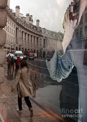 Photograph - Store Window Reflection by Igor Kislev