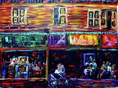 Painting - Storefront by Wanvisa Klawklean