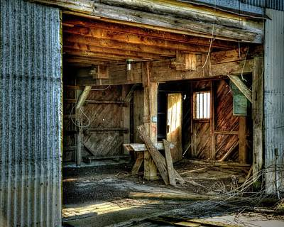 Photograph - Storied Interior by Jerry Sodorff