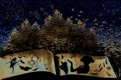 Digital Art - Stories Untold by Wesley Nesbitt