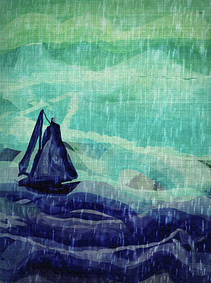 Painting - Storm by Amy Shaw
