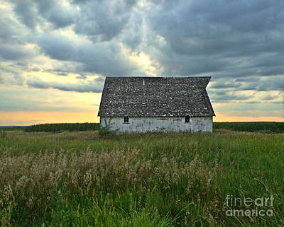 Photograph - Storm And Light On The Farm by Kathy M Krause
