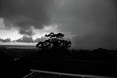 Photograph - Storm And Rain Is Back With A Vengeance by Miroslava Jurcik