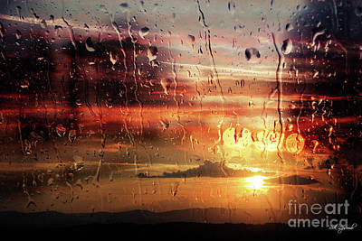 Photograph - Storm And Sun by Rick Lipscomb