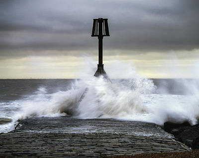 Photograph - Storm Angus by Will Gudgeon