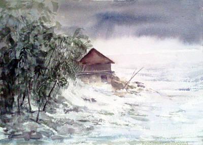 Painting - Storm by Asha Sudhaker Shenoy