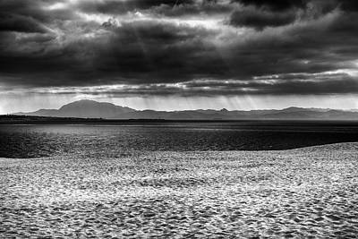 Tarifa Photograph - Storm At African Mountains by Guido Montanes Castillo