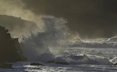 Photograph - Storm At Clogher Beach by Barbara Walsh