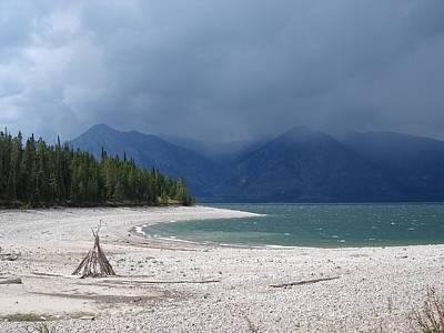 Photograph - Storm At Jackson Lake by Richard Deurer