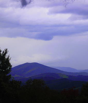 Photograph - Storm At Lewis Fork Overlook 2014a by Cathy Lindsey