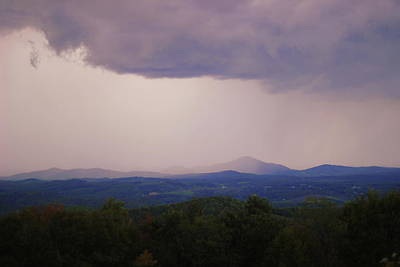 Photograph - Storm At Lewis Fork Overlook by Cathy Lindsey