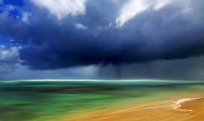 Storm At Punta Cana Dominican Republic Original by Dennis Kirby