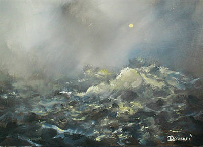 Painting - Storm At Sea by Raymond Doward