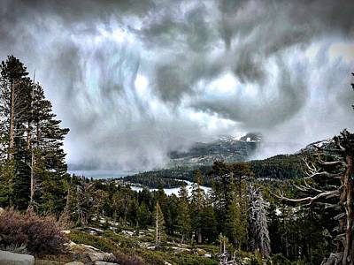 Photograph - Storm At Silver Lake by Steph Gabler