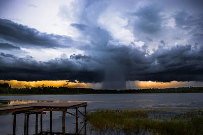 Photograph - Storm At Sundown by Parker Cunningham