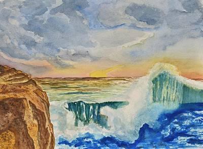 Storm At Sunset Original