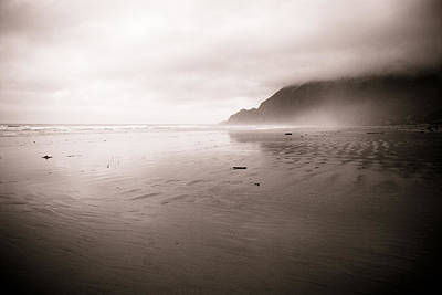 Art Print featuring the photograph Storm Beach by Craig Perry-Ollila